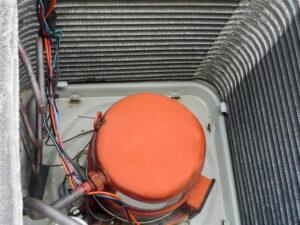 compressor-set-down-in-outside-ac-unit